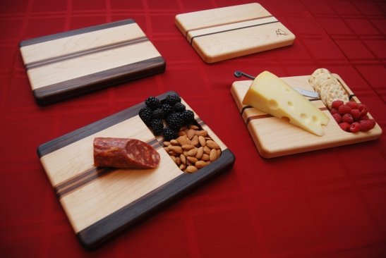 Serving Boards with Matching Cheese Boards